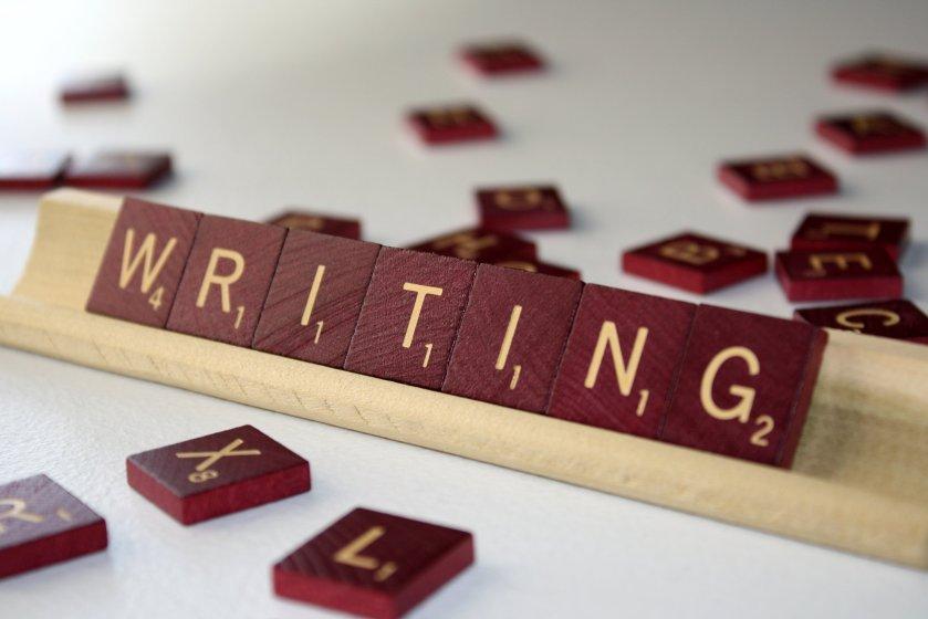 writing scrabble