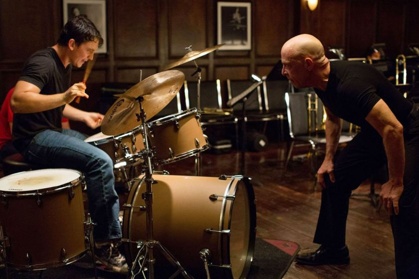 A scene from Whiplash Source: http://www.newyorker.com/wp-content/uploads/2014/10/Brody-Whiplash-1200.jpg