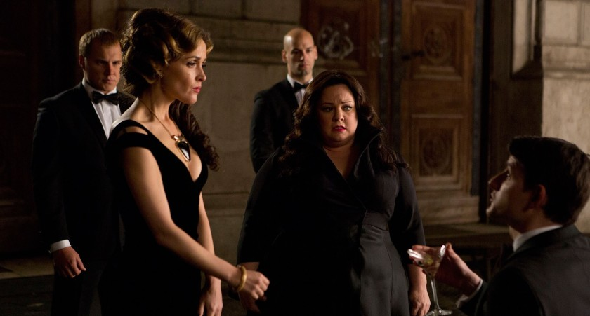 Rose Byrne and Melissa McCarthy in Spy