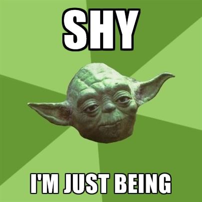 shy-im-just-being