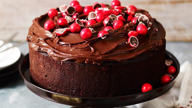 cherry-chocolate-birthday-cake