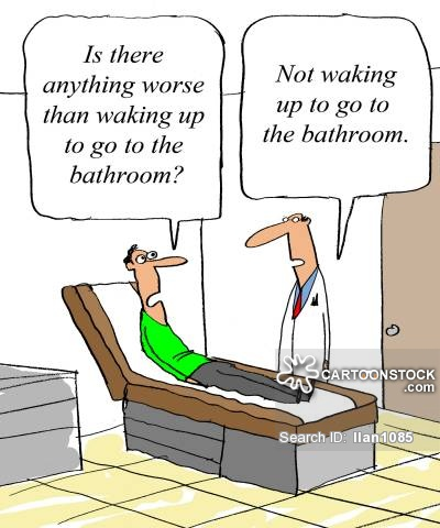 'Is there anything worse than waking and going to the bathroom?'